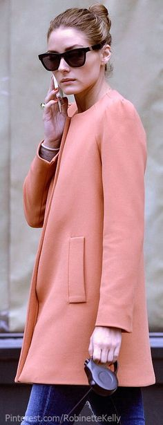 @kendalzoghby look who has your coat... Casual Classic | Olivia Palermo