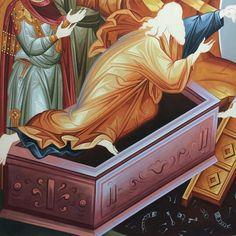 Church Interior, Interior And Exterior, Byzantine Icons, High Art, Orthodox Icons, Kirchen, Drapery, Creations, Scene