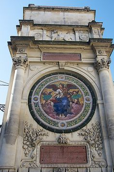 Arles, France...we passed this medallion every day on our holidays..fond memories