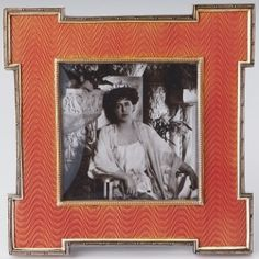 Frame with a photograph of Marie, Crown Princess of Romania (1875-1938)