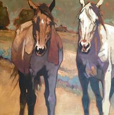 """Summer Days"" - Originals - All Artwork - Peggy Judy Horse Art, West Art, Animal Art, Art Drawings, Western Art, Painting Inspiration, Painting, Art, Animal Paintings"