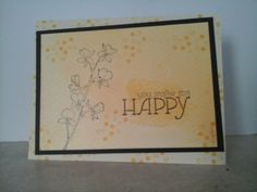 Close Up of Happy Card 1