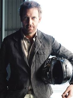 Hugh Laurie. I've loved him since Blackadder but haven't seen House yet. Should remedy that.