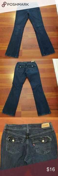 Levi 515 jeans EUC bootcut size 4 Levi 515 jeans size 4M W-27 L-32 in excellent condition only worn once just a little to big for me Washed in cold and drip dried. Levi's Jeans Boot Cut