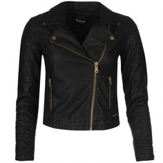 Kabát Firetrap Blackseal Kate Biker női