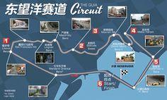 Image result for macau racing circuit maps