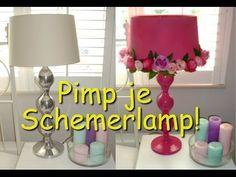 DIY Pimp je schemerlamp! - YouTube