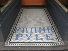 Frank Pyle ghost tile, Seattle