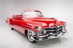 Red 51 Cadillac convertible, Plus 100s of Classic Cars   http://www.pinterest.com/njestates/cars/    Thanks to  http://www.njestates.net/real-estate/nj/listings