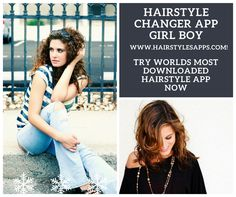 Hair Changer, Hairstyle App, Trendy Hairstyles, Apps, Play, Store, Hair Styles, Google, Women