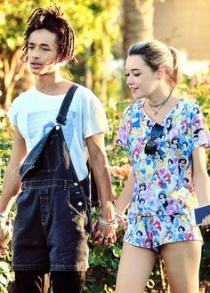 How Jaden Smith and Sarah Snyder Put Their Couples Stamp on the Coachella Ponytail