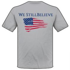 Knight We Still Believe Shirt Back  - Shop online at www.knightrifles.com