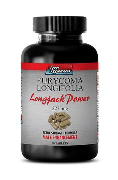 Tongkat ali extract 200 to 1 powder - Longjack Power Eurycoma Longifolia 2275mg - Sex drive pills for men (1 Bottle - 60 Tablets) ** For more information, visit now : Healthy Herbal Supplements
