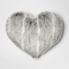 Pillows - Add an extra sweet touch to your couch or bedding with this Oversized Faux-Fur Throw Pillow. The furry pillow is an easy way to add texture to your space, while . Grey Faux Fur Throw, Oversized Throw Pillows, Grey Throw Pillows, Fur Pillow, Euro Pillow Covers, Pillows Online, Grey Stripes, Personality, Gray