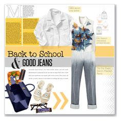 """""""Back to School: Denim Guide"""" by daha-mk ❤ liked on Polyvore"""