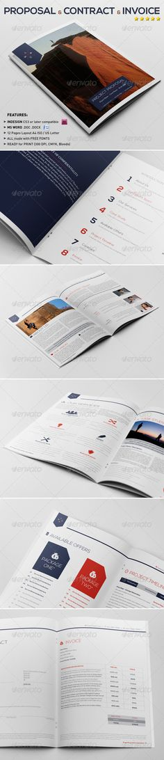 19 best Bus plan images on Pinterest in 2018 Invoice design - Sample Contract Proposal Template