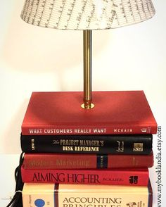I love working with my customers to come up with really unique and personalized items.  How do you like the spreadsheet lampshade?   Want something so unique and special of your own?  Click this link! https://www.etsy.com/listing/215927630/book-lamp-stacked-book-lamp-custom-made  #personalized #customdecor #accounting #officedecor #officedesign #booklamp #personalizedgifts #makeityours #businesslife #officelife #officestyle