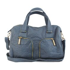 Holly Satchel Blue now featured on Fab. $34