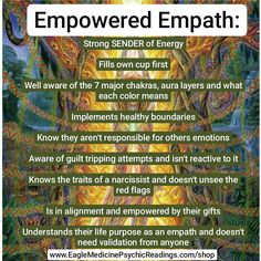 7 Empath Steps To Go From Overwhelmed To Empowered On Demand Webinar Empath Traits, Traits Of A Narcissist, Intuitive Empath, Sensitive People, Highly Sensitive, Chakra Meditation, Psychic Readings, Feeling Overwhelmed, Trust Yourself