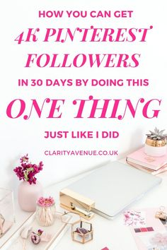 If you want to get more Pinterest followers, then you need to read this post. By leveraging just one thing, the author of this post was able to grow  her followers by 3k in 30 days. You can also swipe her Pinterest strategy for six figure traffic numbers. Get even more Pinterest traffic and followers this year and get strategic with your approach to online marketing as a blogger #blogger #blogging #pinterest #pinterestfollowers #pinteresttraffic