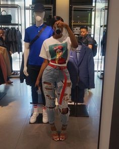 Best Baddie Outfits Part 15 Dope Outfits, Trendy Outfits, Casual Outfits, Girl Outfits, Summer Outfits, Fashion Outfits, Fashion Trends, Modest Outfits, School Outfits