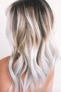 Blonde Hair Shades, Cool Blonde Hair, Platinum Blonde Hair, Blonde Color, Coconut Hair, Low Maintenance Hair, Summer Hairstyles, Wedding Hairstyles, Hair Dos