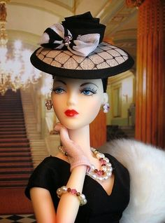 An Easy DIY Project                 The secret to these stylish hats....They are made from a buckram pate!  Pates are used in doll makin...