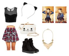 """""""Ariana Grande♡♡"""" by lexismiley33 ❤ liked on Polyvore featuring MANGO, Miu Miu and KLING"""