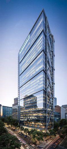 Render: 100 Mount Street. 149m Tower, North Sydney