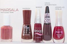 Site Unha Bonita | por Daniele Honorato » Arquivos Esmaltes Marsala: Pantone Color of the Year 2015