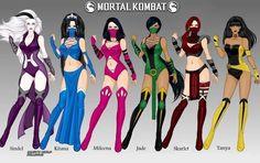Mortal Kombat: Women of Edenia by LadyRaw90