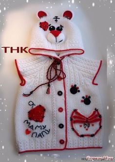 ❤ ✿ My Corner of the Fabric ✿ ❤: Crochet baby clothes collection (g . Crochet Girls, Crochet Baby Clothes, Crochet For Kids, Crochet Hats, Baby Pullover, Baby Cardigan, Baby Outfits, Cute Beanies, How To Start Knitting