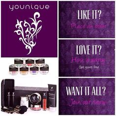 Younique Like it? LOVE it? WANT IT ALL? https://www.youniqueproducts.com/StefaniePippen4/party/470578/view