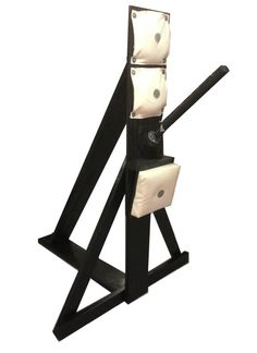 This centerline Free Standing training trapping arm dummy is designed for Wing Chun trapping and sensitivity drills for when a partner is not available.