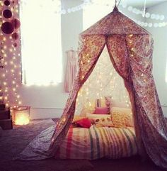 5 Steps To Building Your Own Epic Blanket Fort . Def keeping my spare mattress to use for blanket fort. I'm tired of being an adult. if you need me, I'll be in my blanket fort. My New Room, My Room, Dorm Room, Spare Room, Girls Bedroom, Bedroom Decor, Master Bedroom, Design Bedroom, Childs Bedroom