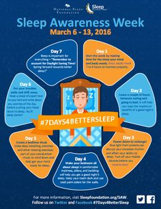 Join us in celebrating Sleep Awareness Week with National Sleep Foundation!   Incorporate these small daily adjustments into your nightly routine to prepare for Daylight Savings Time and be on your way to better sleep and improved overall health and wellness.