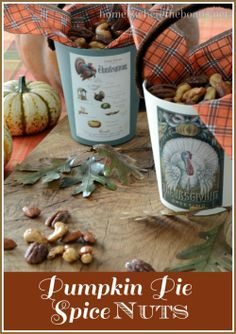 Pumpkin Pie Spice Nuts-Home is Where the Boat Is.