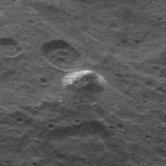 New Ceres image with more bright stuff and odd pingo-like mound.