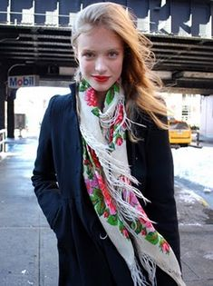 Scarves! Use crazy prints and use them as head bands too!