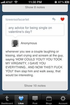 yes! im doing this if im single on valentines day