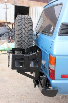 4PlusProducts | FJ60 | Tire Carriers | Classic Rear Bumper
