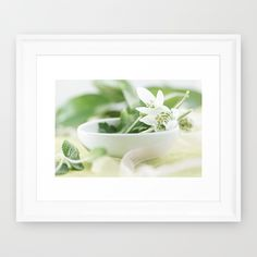 Spring made of dreams Framed Art Print