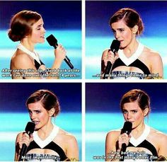 There's Hermione for you.