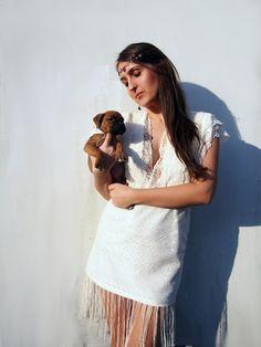 #lace dress #fringedress #boho #bohodress #deepV #deepVdress #lacedress #designerdress #hautecouture #hautecouture dress