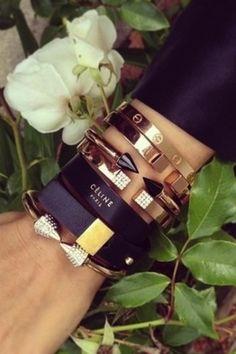 wowza, Celine bracelets.. yes please