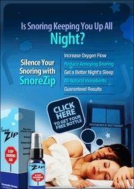 SnoreZip Stop Snoring