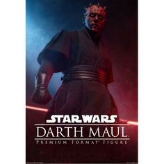 DARTH MAUL | Poster | STAR WARS | Episode I : The Phantom Menace (1999) | Sideshow Collectibles Figures