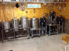 Getting that First Batch of Beer Brewing Nano Brewery, Home Brewery, Beer Brewing Kits, Brewing Company, Make Beer At Home, Beer Factory, Home Brewing Equipment, Brewery Equipment, Brewery Design