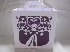 Wedding Tree Gift Bag STUDIO SVG Commercial Use on Craftsuprint - View Now!