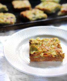 Baked Artichoke Squares | Forbidden Rice Blog